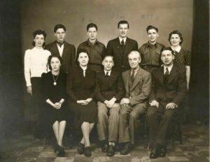 Bert Lindsay family c. 1940
