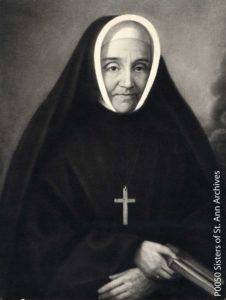 Blessed Mother Marie-Annefounded the Sisters of St. Anne