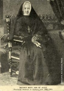 Sister Mary Anne of Jesus, née Mary Elizabeth Rowan