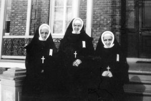 Unidentified Sisters in 1928 at the Convent of St. Anne, Rawdon
