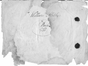 Signature of William Holtby