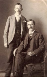James Henry Mason and Richard Mason junior at Portage la Prairie