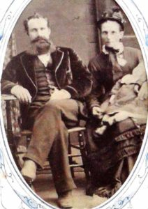 Believed to be Henry Warren Rourke with Catherine Nightingale Rourke