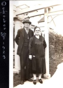 Louis B. Livingston and Jane Emily Smith, 1929