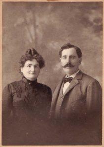 John Enoch Farrell & Annie Chrow