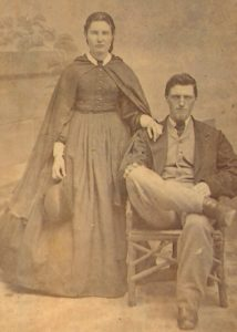 Mary Law (1838-1932) and James Copping (1842)
