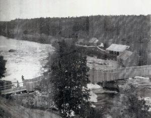 Boyce's Mill on Ouareau River, 1890 - 1900