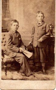 James Charles Mason and Thomas Norman Mason Sons of Thomas Armstrong Mason of Port Hope, Ontario
