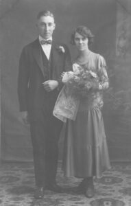 Dr. Christian N. Gundesen and Inez L. Parkinson married 25 July 1924